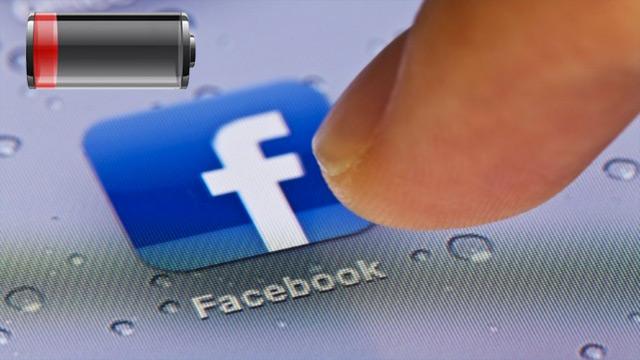facebook-application-batterie