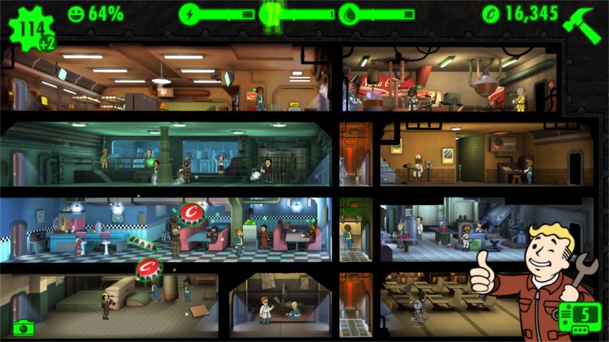 Mise à jour 1.6 et version PC — Fallout Shelter