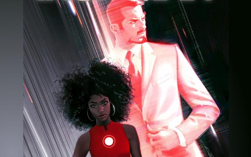 Tony Stark remplacé par une femme — Iron Man