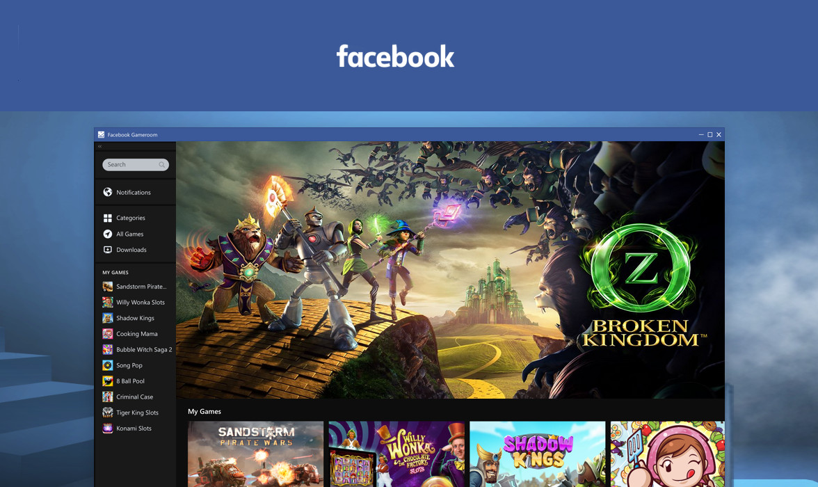 Facebook Gameroom Android