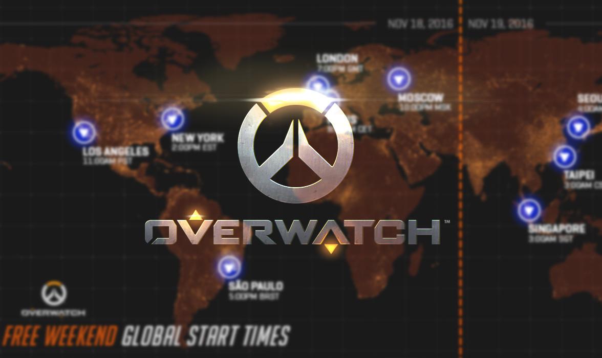 Un autre week-end gratuit pour Overwatch